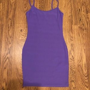MISSGUIDED purple mini dress! Size 2